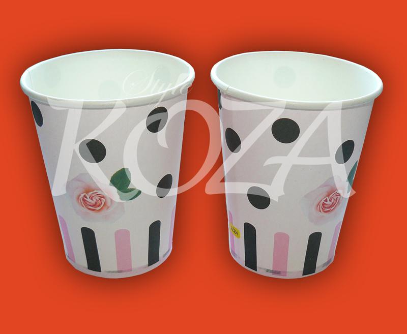 Как украсить одноразовые стаканчики